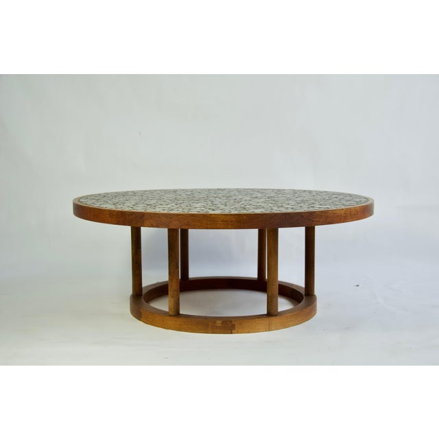 Mid-Century Modern Ceramic Tile-Top Coffee Table by Gordon and Jane Martz For Sale - Image 3 of 7