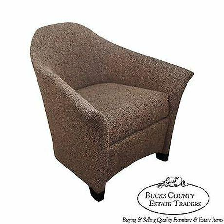 Thomasville Casa Bique Leopard Print Club Lounge Chair For Sale - Image 13 of 13