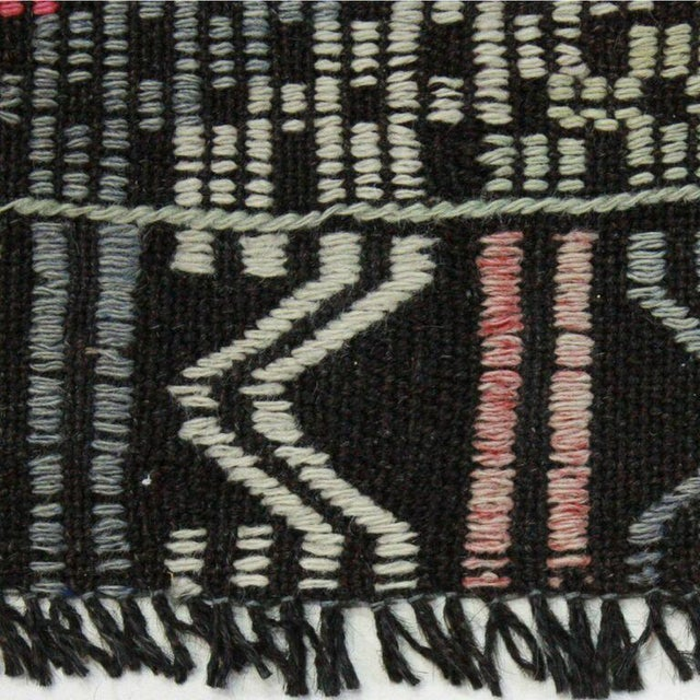 Vintage Cicim Turkish Kilim - 6'7'' x 9' - Image 4 of 4