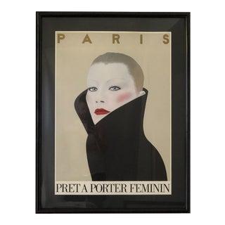 Parisian Fashion Illustration by Razzia For Sale