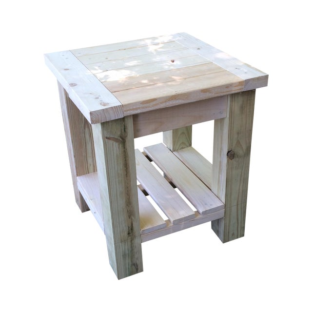 Handmade Side Table - Image 1 of 3