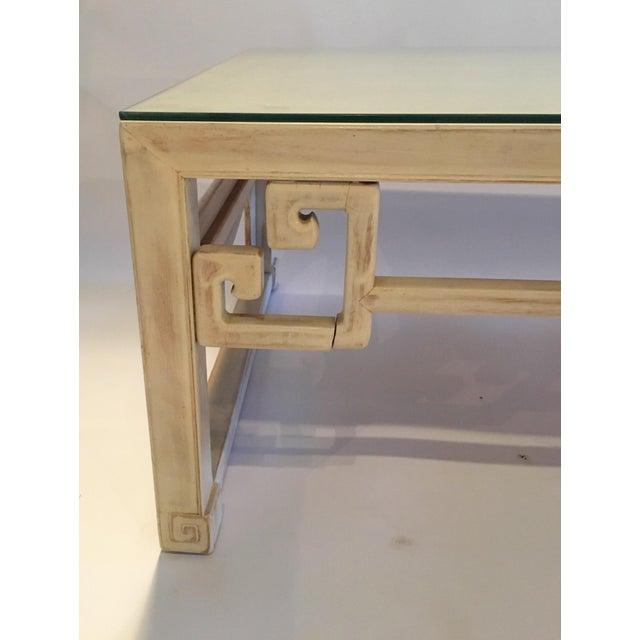 Vintage Keyhole Coffee Table - Image 6 of 7