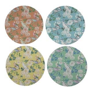 Peony Inspira Coasters, Set of 4 For Sale