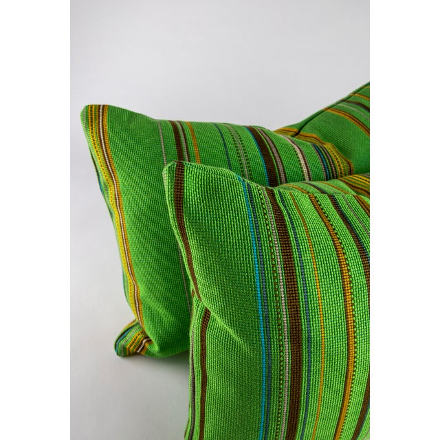 "22"" X 14"" Maharam Point by Paul Smith Down Pillows For Sale - Image 4 of 8"