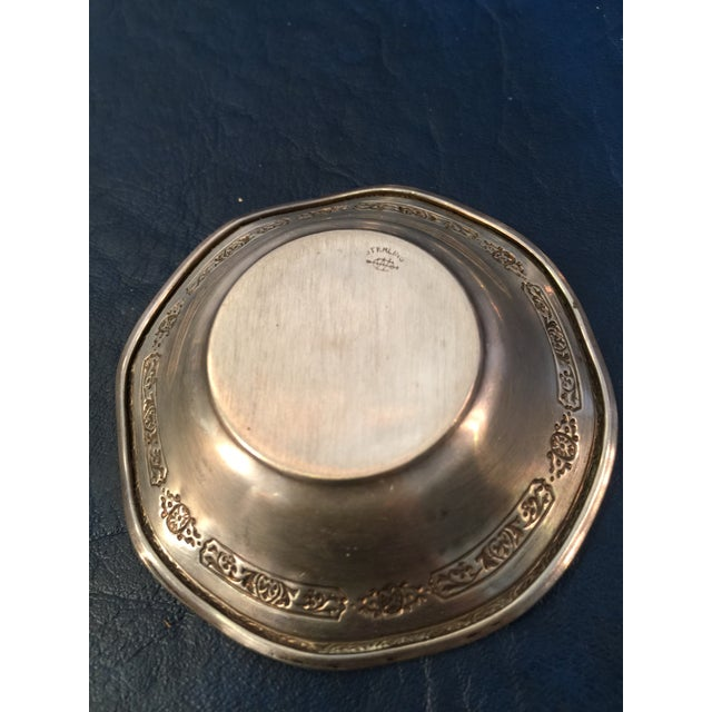 Webster Sterling Nut Dishes - Set of 5 For Sale In Seattle - Image 6 of 7