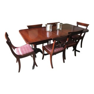 Duncan Phyfe Dining Room Table & Chairs