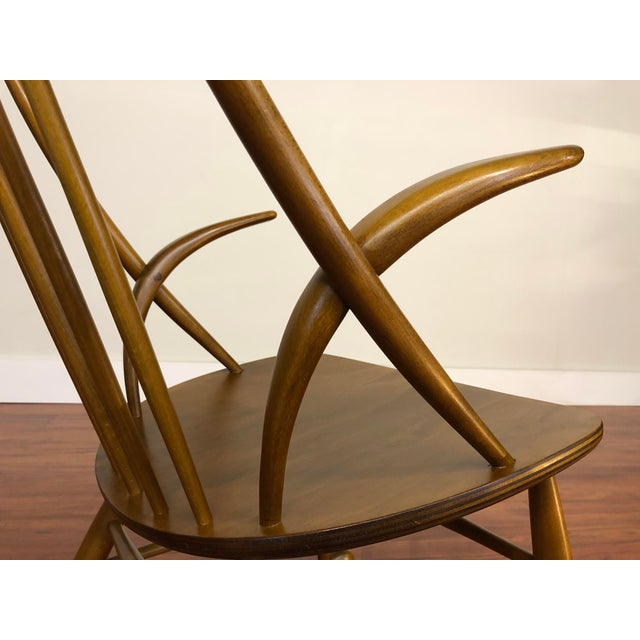 Illum Wikkelso for Niels Eilersen Gyngestol Rocking Chair For Sale In Seattle - Image 6 of 13