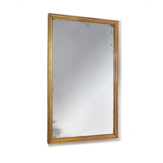 Fine Quality Art Deco Brass Brasserie Mirror For Sale - Image 4 of 4