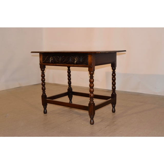 English 18th Century English Side Table For Sale - Image 3 of 10