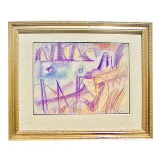 San Francisco Bay Expressionist Painting