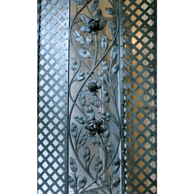 Antique French Deco Screen - Image 3 of 4