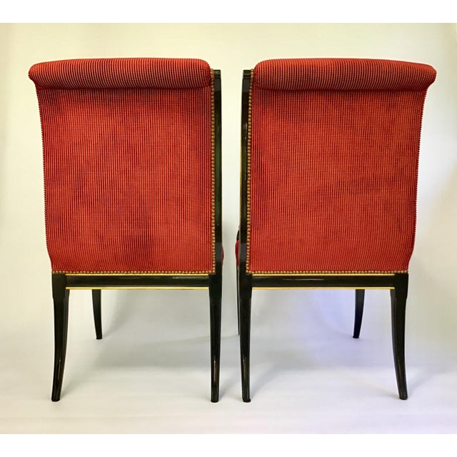 Karges Furniture Karges Parler Deux Chairs - A Pair For Sale - Image 4 of 12