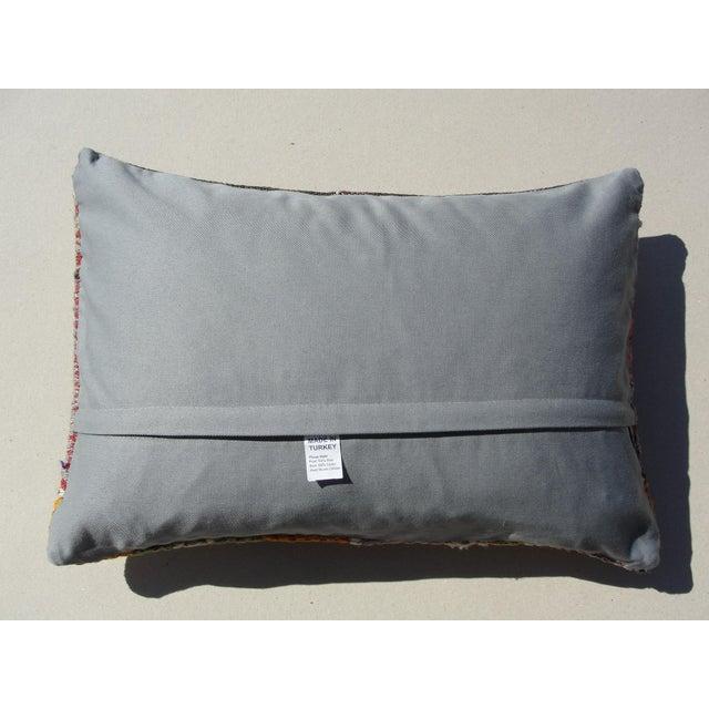 Kilim Rug Pillow For Sale - Image 11 of 11