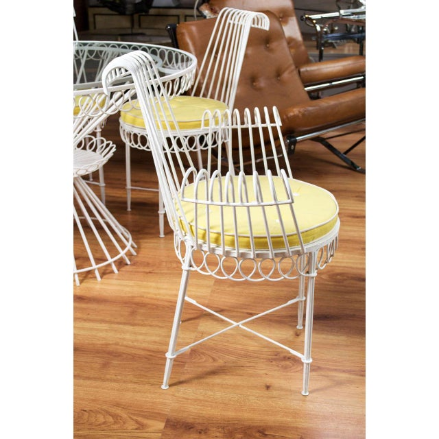 Mathieu Mategot Set of Table and 6 Chairs For Sale - Image 9 of 10