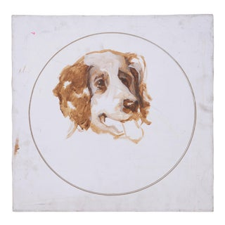 Portrait of an Unfinished Dog For Sale