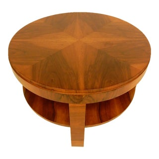 1930's Art Deco Side Table For Sale