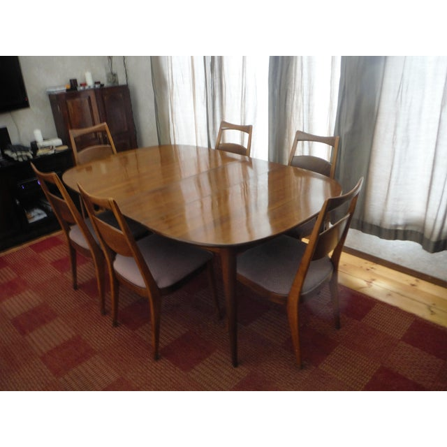 Heywood-Wakefield Solid Cherry Dining Set - Image 3 of 11