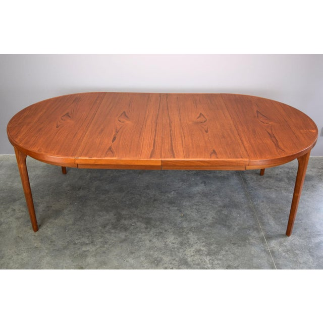 Heltborg Møbler Danish Teak Expandable Dining Table - Image 8 of 11
