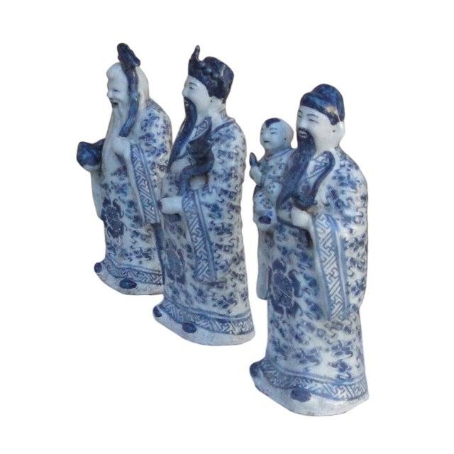 Chinese Handmade Blue & White Porcelain - Set of 3 - Image 4 of 7