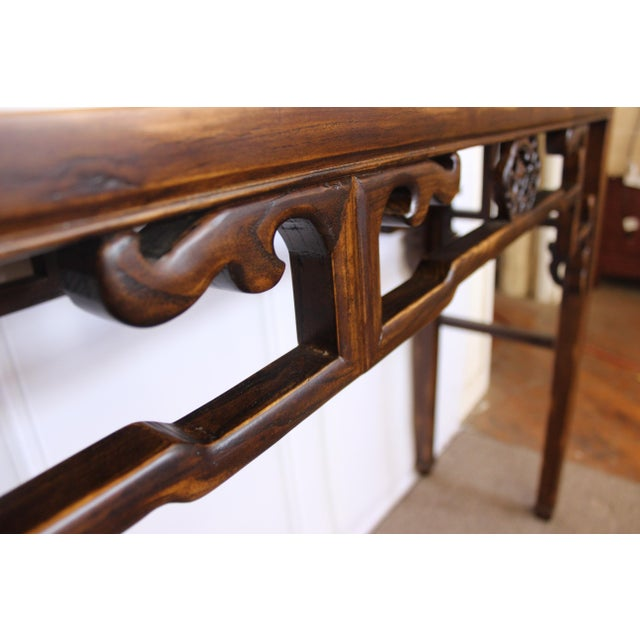 Carved Console Table For Sale - Image 9 of 10