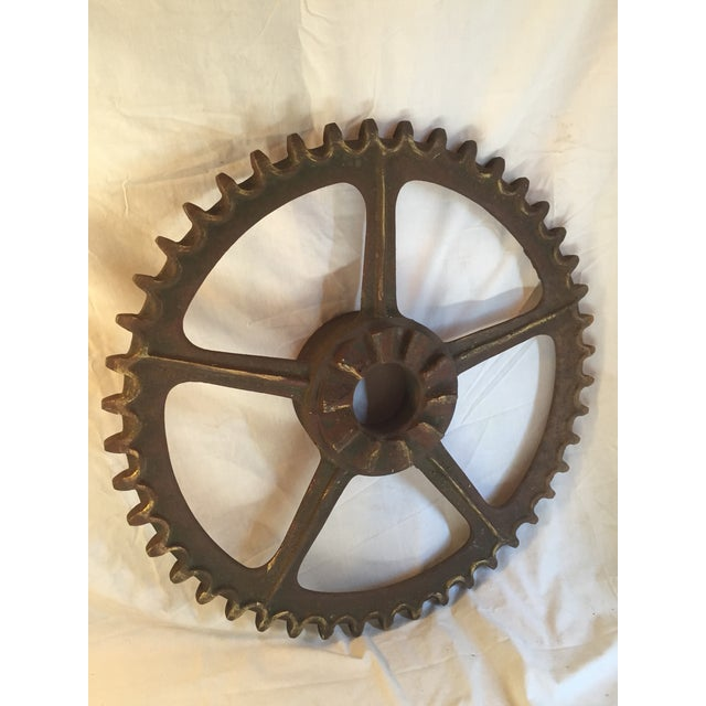 Antique California Gold Country Mining Sprocket - Image 2 of 7