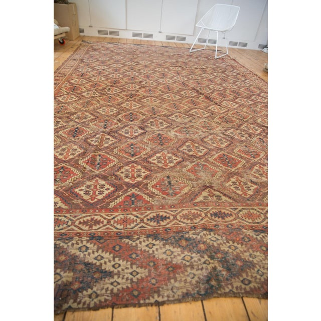 """Late 19th Century Antique Beshir Carpet - 8'9"""" X 14' For Sale - Image 5 of 13"""