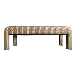 1980s Contemporary Parsons Bench For Sale