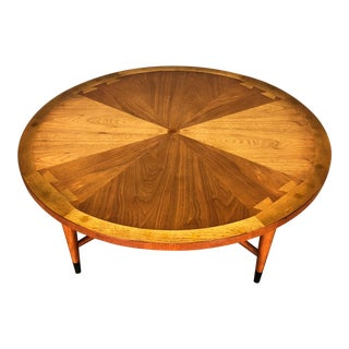 Lane Acclaim Mid-Century Modern Round Coffee Table