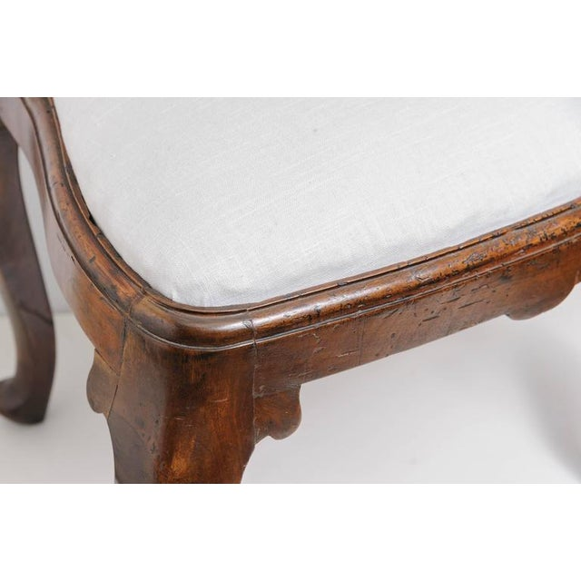 Set of Four 19th Century Queen Anne Revival Side Chairs with Slip Seats - Image 6 of 9