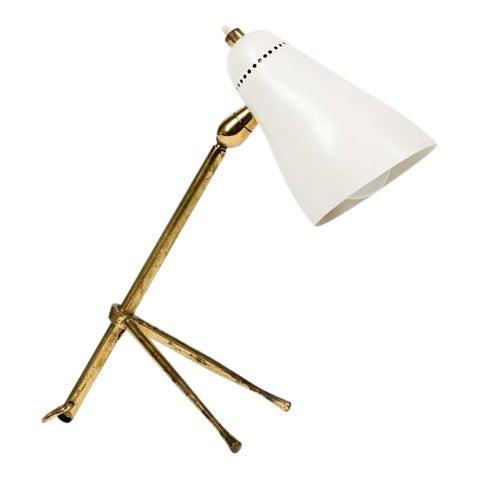 Giuseppe Ostuni for Oluce, Table or Desk Lamp for Oluce, 1950s For Sale