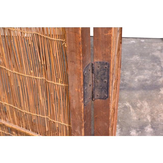 Wooden Japanese Screen - Image 4 of 4