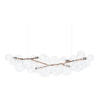 Pelle Long Bubble Chandelier For Sale