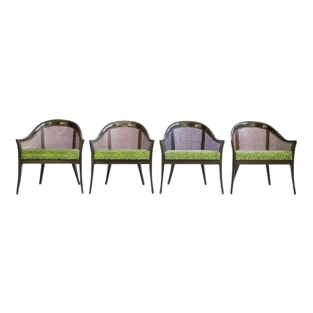 Set of Harvey Probber Pull-Up Chairs For Sale