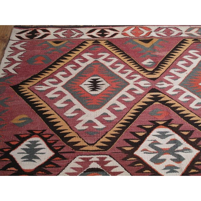 Red Mut Kilim For Sale - Image 8 of 9