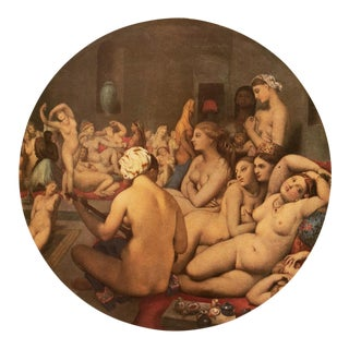 "1951 Ingres ""The Turkish Bath"", First Edition Parisian Photogravure For Sale"