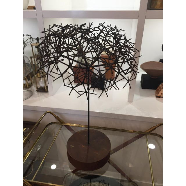 Mid century sculpture tree For Sale - Image 5 of 8