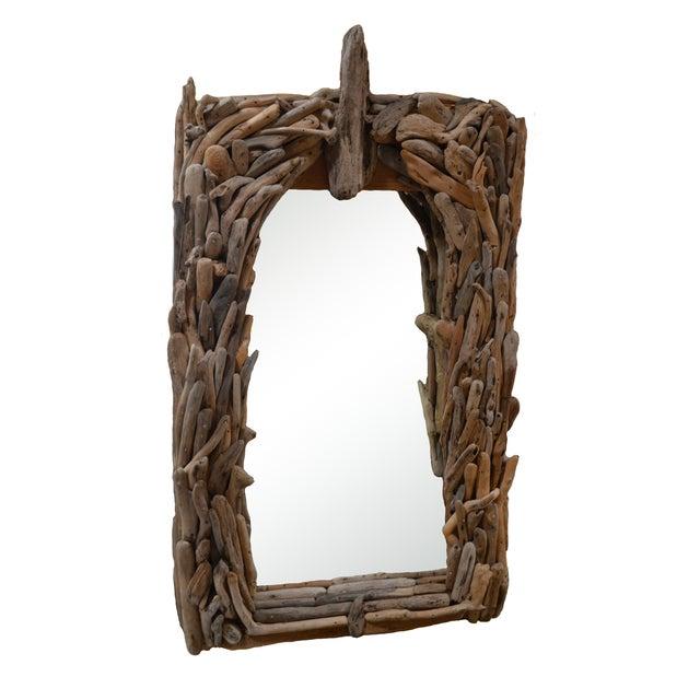 California Modern Driftwood Mirror - Image 1 of 4