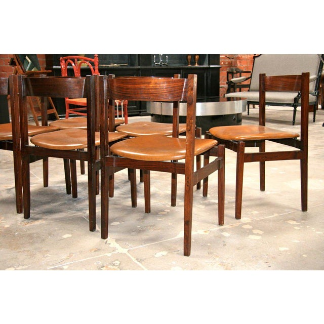Six Gianfranco Frattini Chairs For Sale - Image 5 of 11