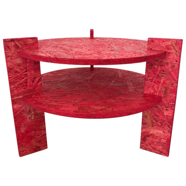 Red Dominic Beattie Studio Table For Sale - Image 8 of 8