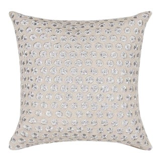 Kate Spade Embroidered Dot Pillow