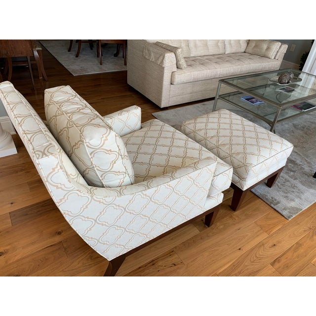 Surprising Stickley Tribeca Style Chaise And Ottoman Pdpeps Interior Chair Design Pdpepsorg