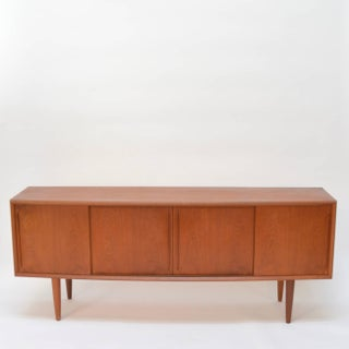 Curved Front Danish Teak Sideboard by h.p. Hansen Preview