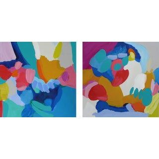 """Cheery 2 Piece Abstract 