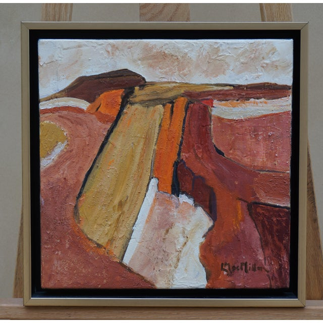 "Laurie MacMillan ""Scenic Route"" Abstract Landscape For Sale In Los Angeles - Image 6 of 6"