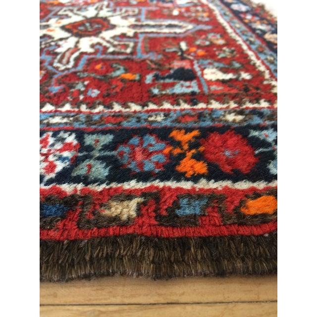 1930s-1940s Karaja Persian Mat For Sale - Image 10 of 13