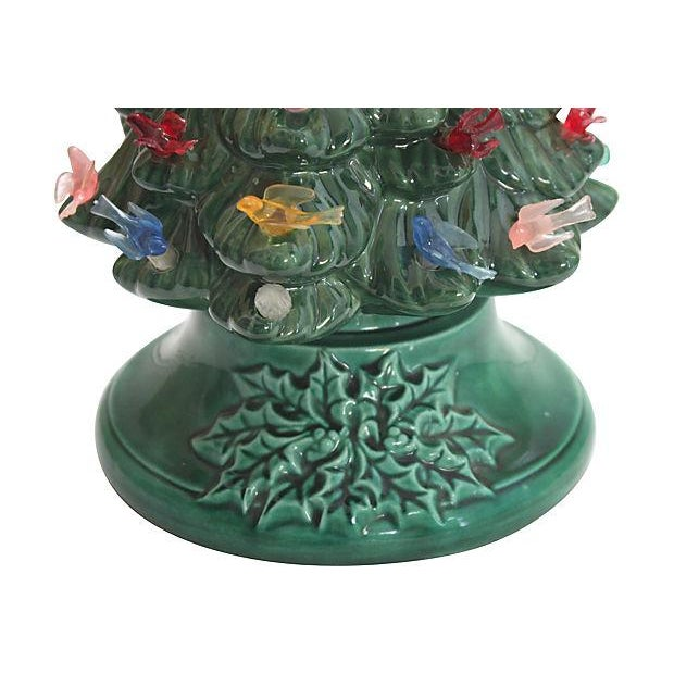 Vintage Light-Up Ceramic Christmas Tree - Image 2 of 4