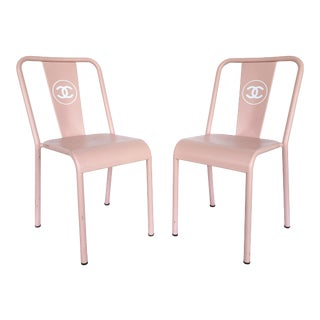 Chanel, France Store Display Chairs - a Pair For Sale