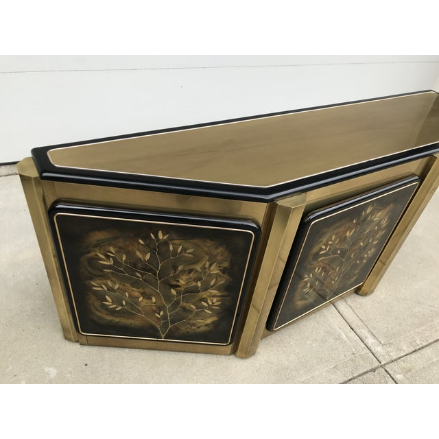 """Mastercraft """"Tree of Life"""" Cabinet by Bernhard Rohne For Sale - Image 9 of 12"""