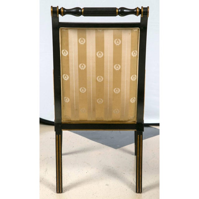 John Stuart Saber Leg Dining Chairs - Set of 6 - Image 8 of 9