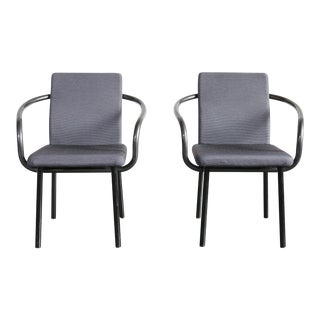 1980s Ettore Sottsass Mandarin Chairs - a Pair For Sale